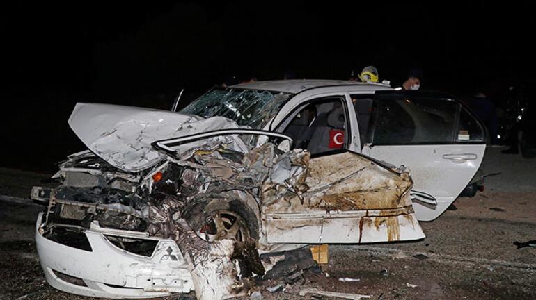 Muğlada feci kaza: 1 ölü, 4 yaralı
