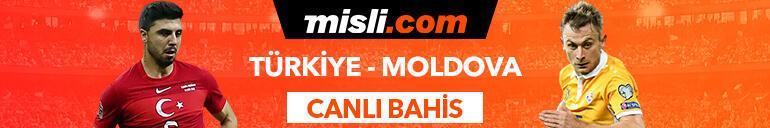 Türkiye - Moldova maçıTek Maç ve Canlı Bahis seçenekleriyle Misli.com'da