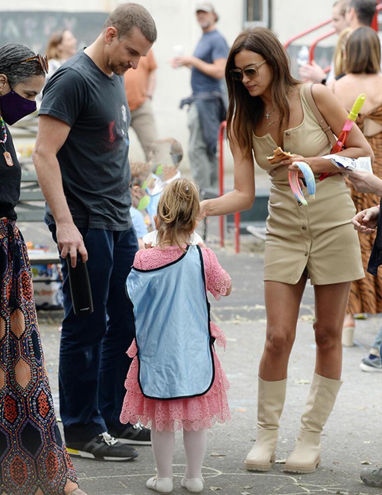 Bradley Cooperdan Irina Shayka hayran bakışlar