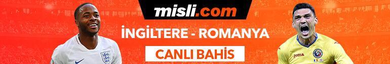 İngiltere - Romanya maçı Canlı Bahis seçenekleriyle Misli.com'da