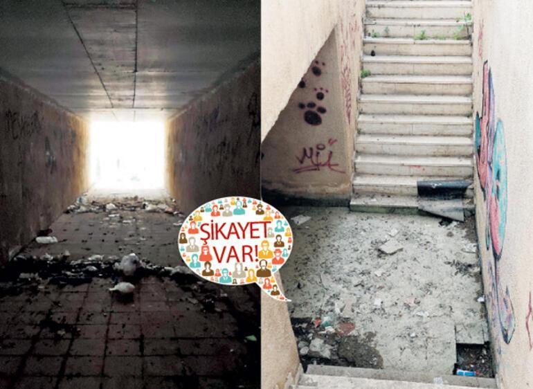 Alt geçit mi korku tüneli mi