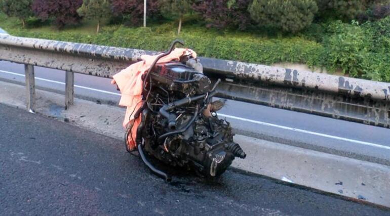 Haliç Köprüsü çıkışında trafik kazası: 2 yaralı