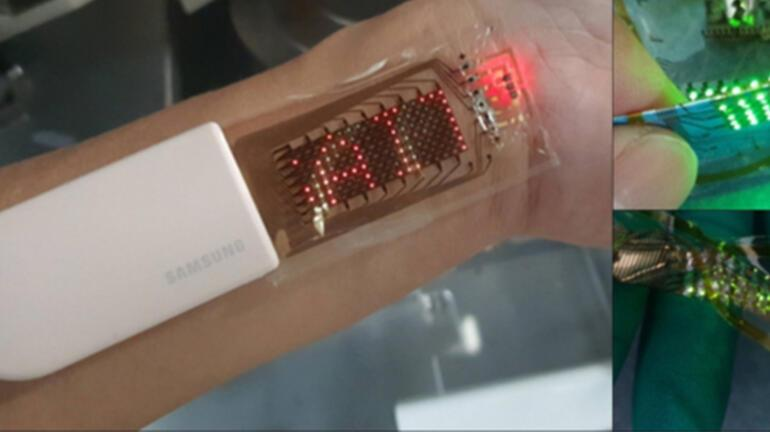 Samsung, OLED temelli yeni bir giyilebilir cihaz geliştirdi