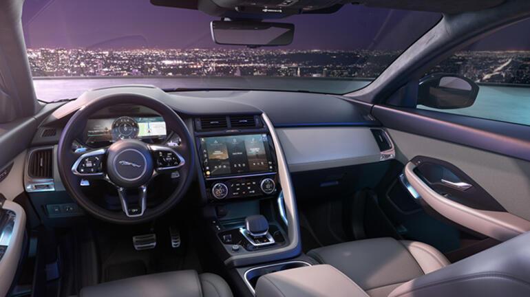 Jaguar E-PACE yeni haliyle yollara çıkıyor