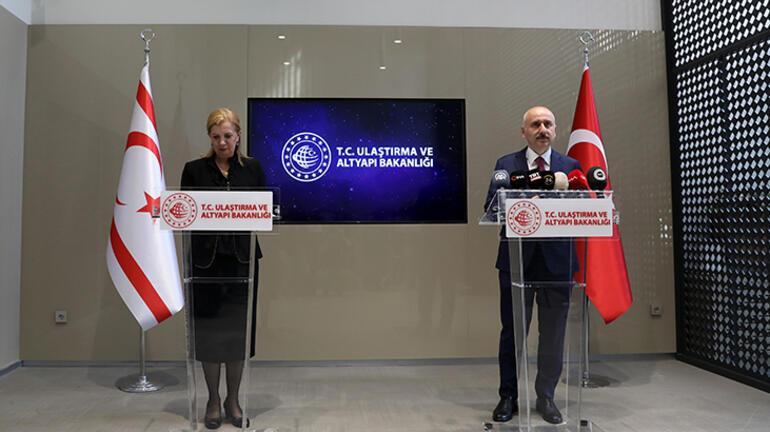 Bakan Karaismailoğlu KKTCde duyurdu: Yıl sonunda tamamlanacak
