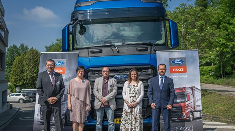 Ford Truckstan Lüksemburg adımı