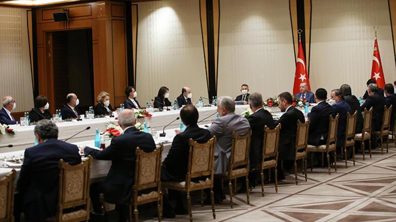 Son dakika haberi: Cumhurbaşkanı Erdoğandan müsilaj toplantısı