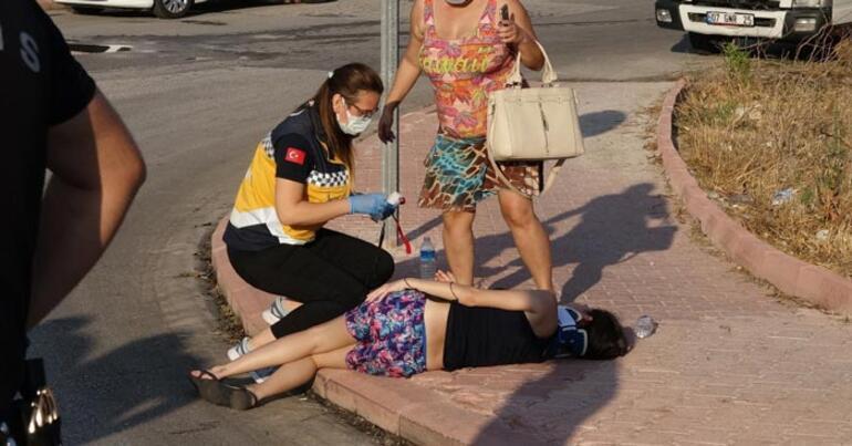 Yaralılar kaldırıma uzandı Sözleri şaşkına çevirdi