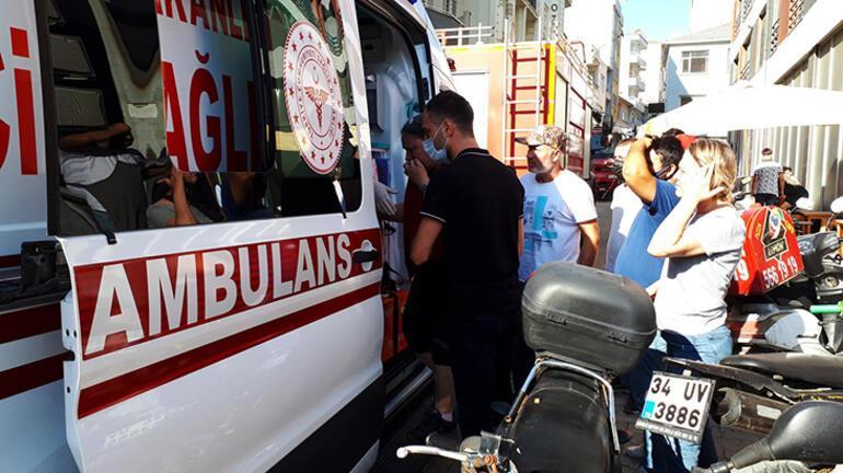 Çanakkalede korkutan yangın 2 kişi yaralandı