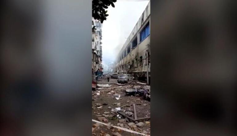 Son dakika... Çinde patlama Onlarca ölü ve yaralı var