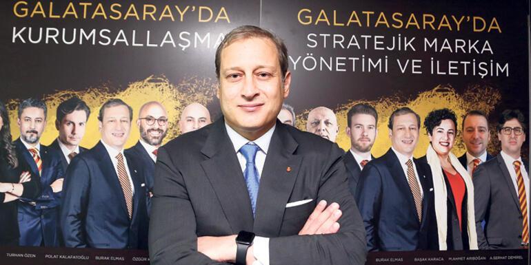 Son dakika haberi - Burak Elmas: Kimsenin değil, Galatasarayın adayıyız