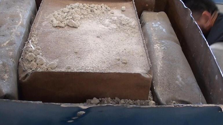 Çelik kasalarda bulundu 304 kilo uyuşturucu