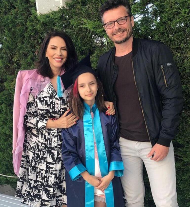 Yeşim Salkımın kızı mezun oldu
