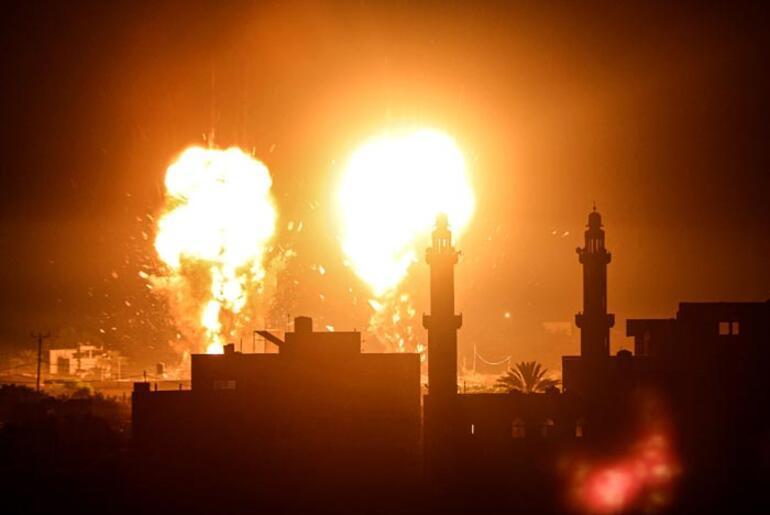 İsrail Gazze Şeridine hava saldırıları düzenledi