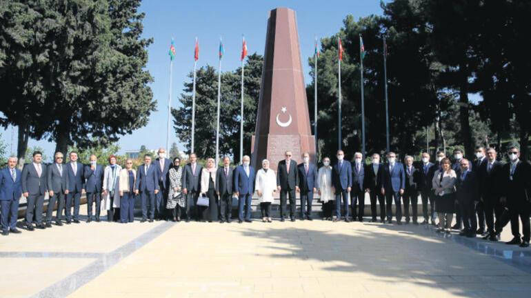 Erdoğan, Azerbaycan Meclisi'ne hitap etti: Barıştan herkes kazançlı çıkacak
