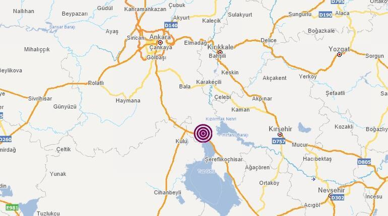Son dakika: Ankarada korkutan deprem