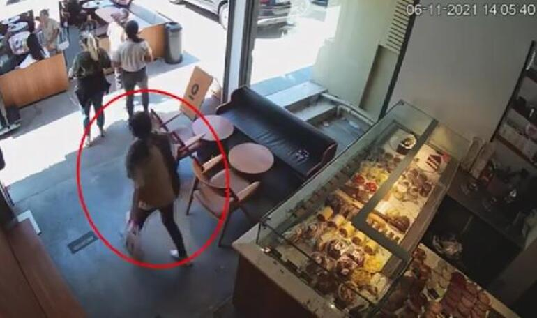 Şişli ve Beşiktaşta market, giyim mağazası ve kafeden hırsızlık yapan kadınlar kamerada