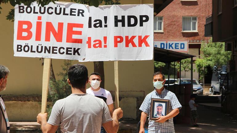 HDP önündeki eylemde 654üncü gün; aile sayısı 228 oldu