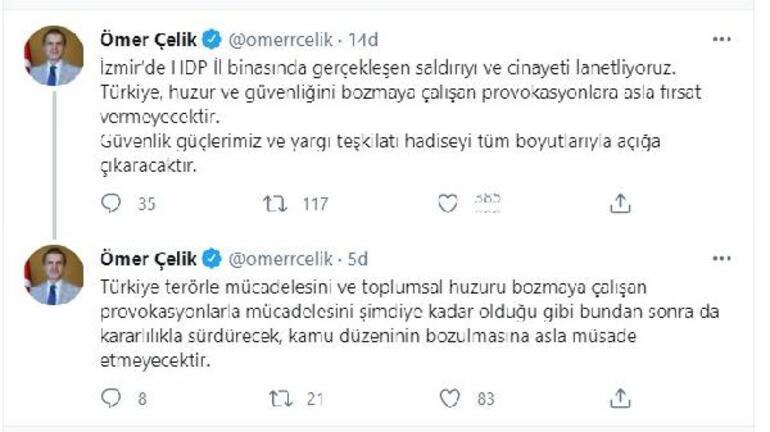 AK Partili Çelik: HDP il binasındaki cinayeti lanetliyoruz