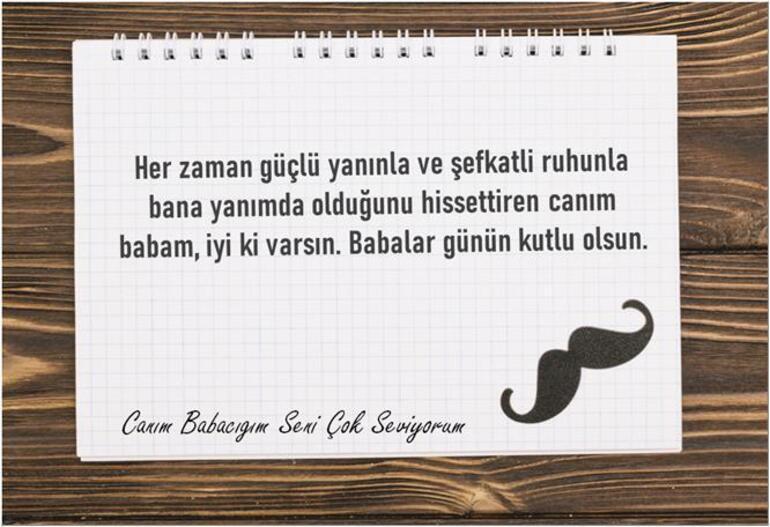 Babalar Günü ne zaman 2021 Türkiyede hangi gün Babalar Günü mesajı duygusal, kısa, uzun, sevgiliye, arkadaşa resimli ve yazılı mesajlar