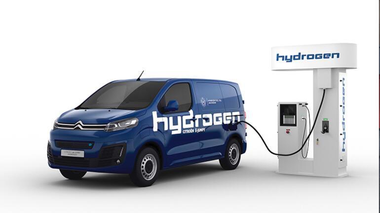 Citroën ë-Jumpy Hydrogenin şarjı üç dakikada doluyor