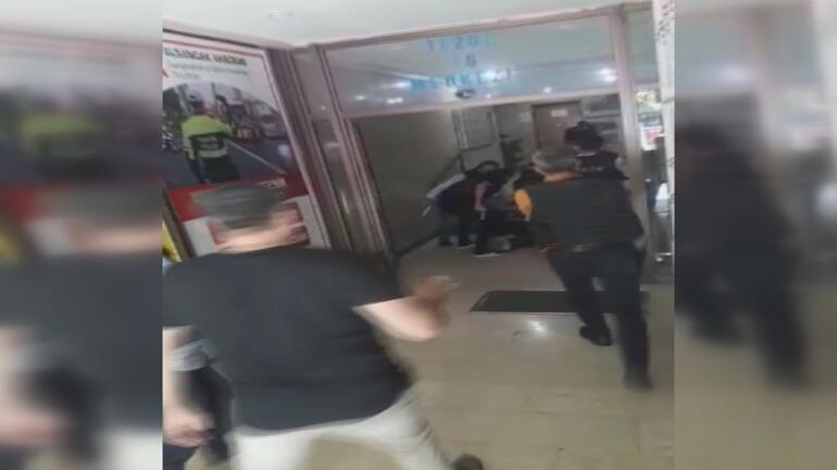 İzmirde HDP binasına saldırıda yeni görüntüler ortaya çıktı