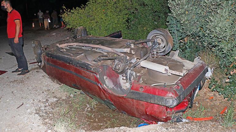 Muğlada feci kaza Araçtan fırlayan sürücü ağır yaralandı