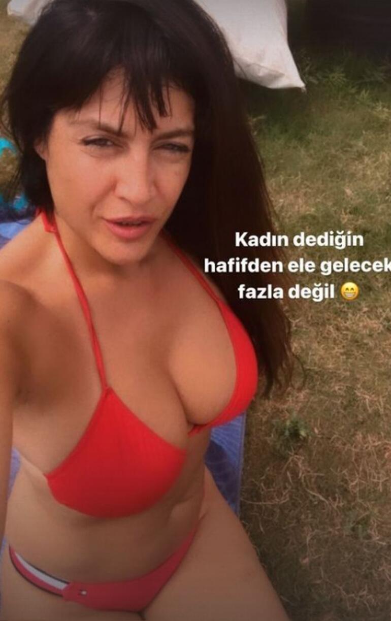 Tuğba Ekinciden bikinili fotoğraflarına ilginç not