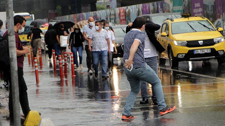 Son dakika... İstanbul Valiliğinden sarı kodlu uyarı Kenti kara bulutlar kapladı