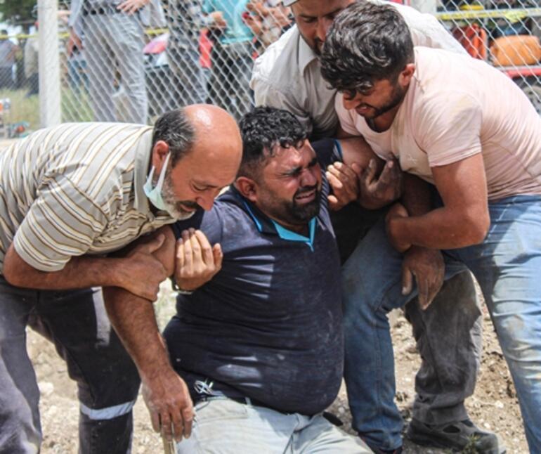 Ankarada inşaatta göçük Özgür öldü, babası yaralı