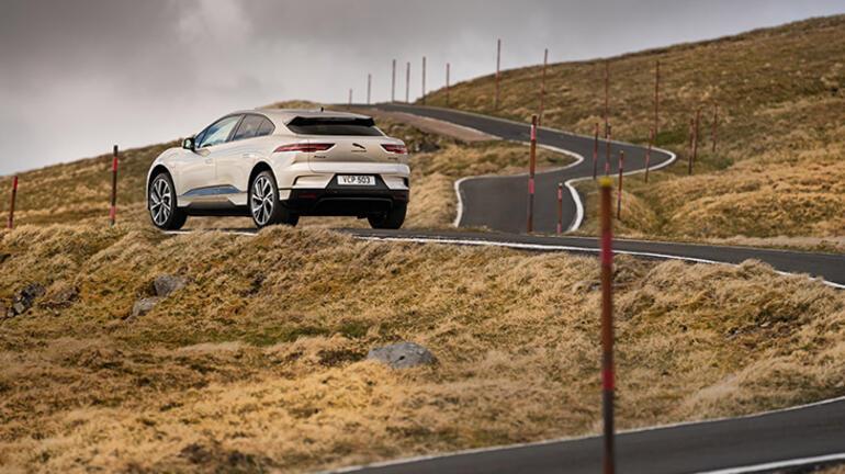Tamamen Elektrikli Jaguar I-PACEten büyük başarı