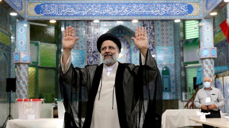 Son dakika... İranda seçim zaferi Reisinin