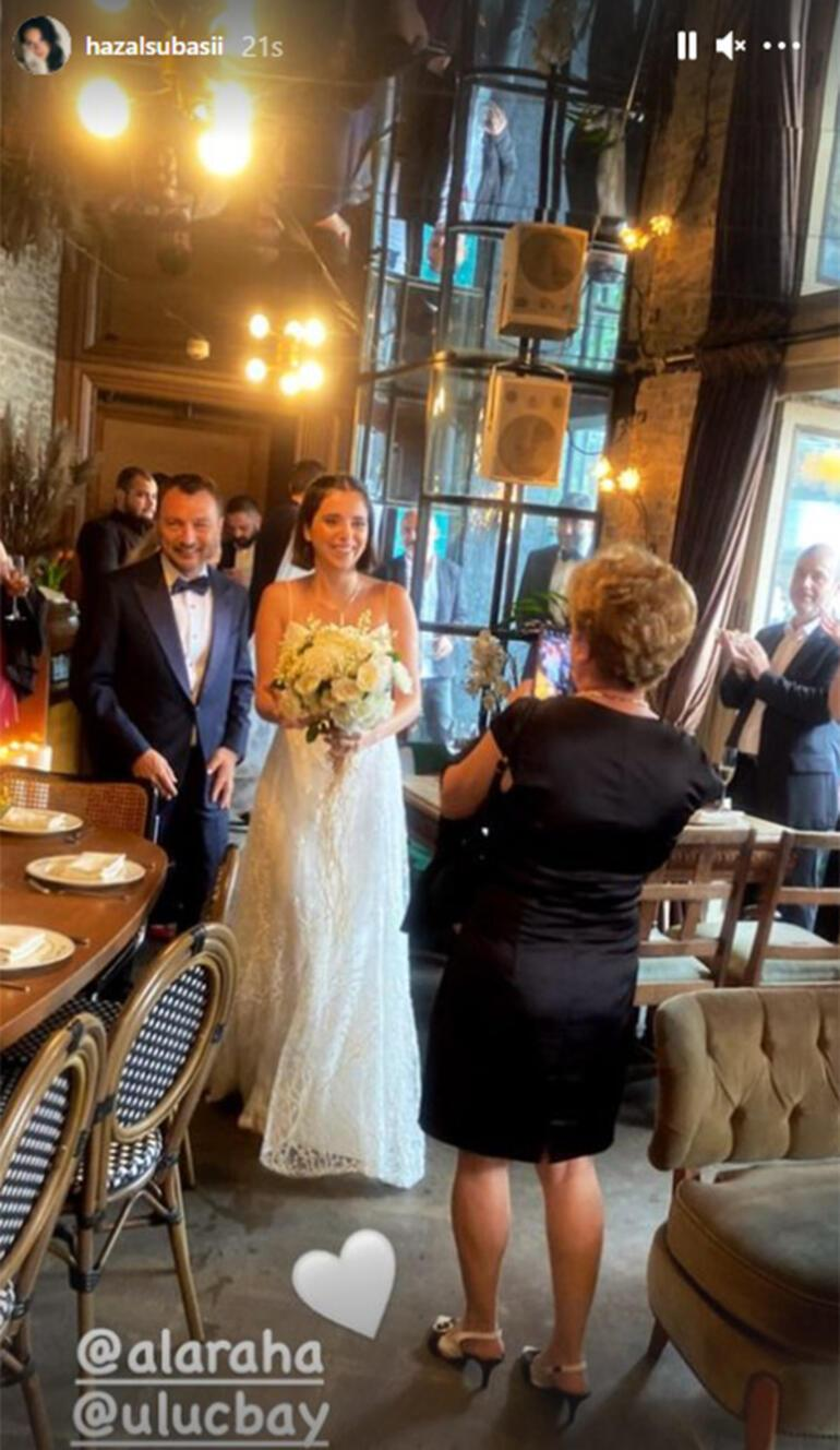 Uluç Bayraktar ile Alara Hamamcıoğlu evlendi