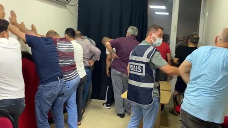 Diş hekimi tabelalı iş yerinde kumara 88 bin 384 lira ceza