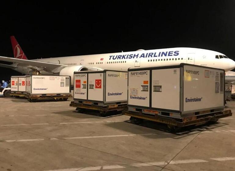 Son dakika Sağlık Bakanlığı duyurdu: 5 milyon doz Sinovac aşısı Türkiyeye ulaştı