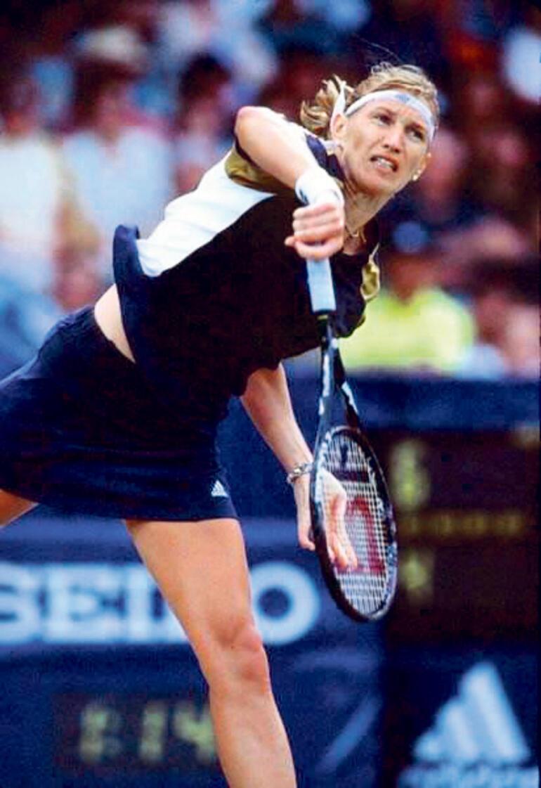 Son dakika - Tarihe meydan okuyan şampiyon Steffi Graf