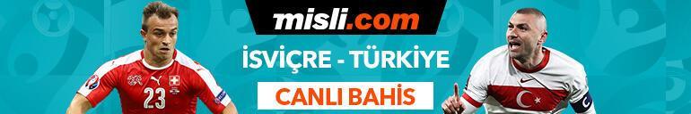 İsviçre-Türkiye maçı Canlı Bahis seçenekleriyle Misli.comda
