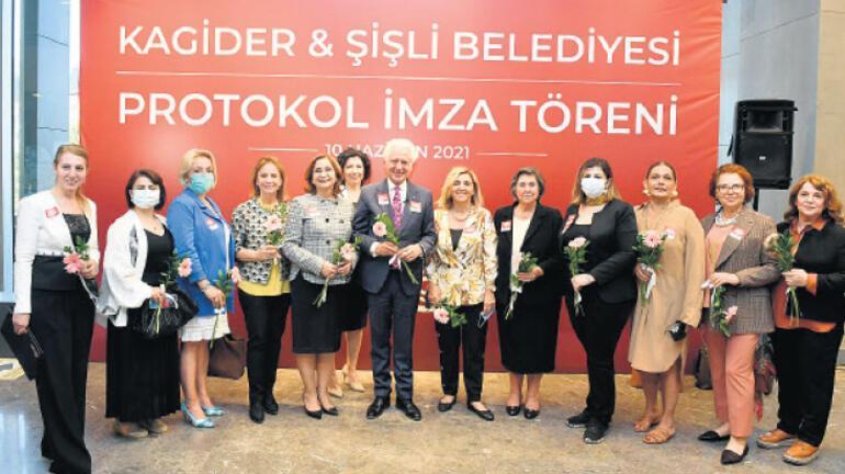 'Kadının toplumda güçlenmesi için çalışıyoruz'