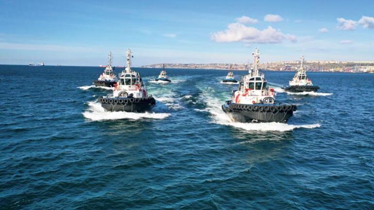 Türk römorkörleri dünya denizlerinde