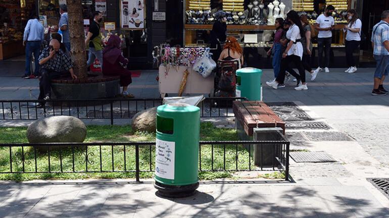 Antalyada çöp konteynerinde cenin bulundu