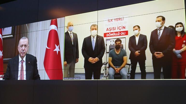 Son dakika... Cumhurbaşkanı Erdoğan duyurdu Yerli aşının ismi TURKOVAC oldu