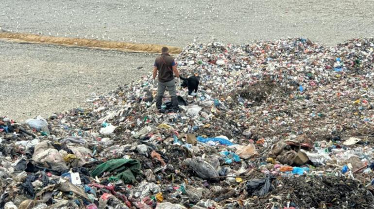 Trabzonda çöp tesisinde aranan bebek cesedi bulunamadı
