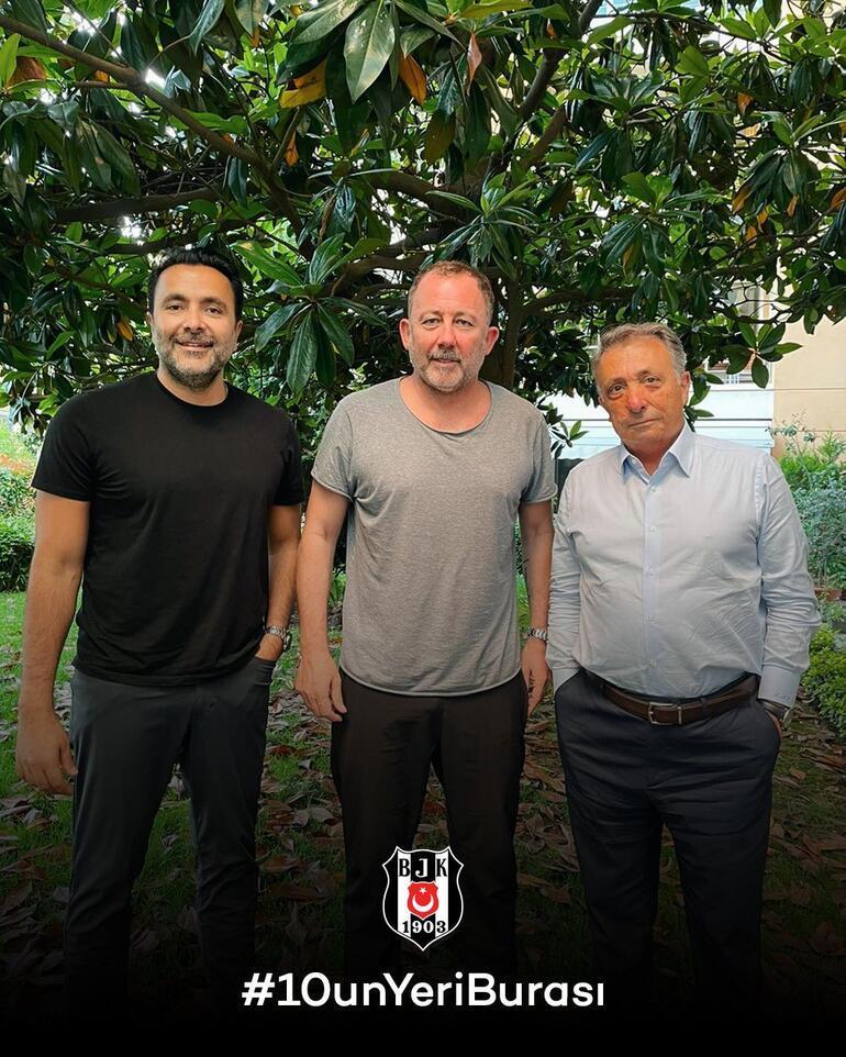 Son dakika: Beşiktaş, Sergen Yalçın ile anlaşma sağladı