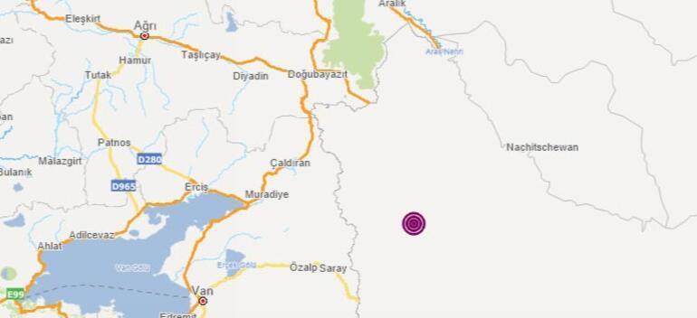 Son dakika İranda korkutan deprem: Büyüklüğü...