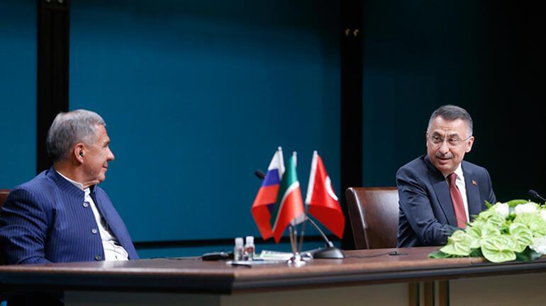 Tataristan ile önemli görüşme İmzalar atıldı
