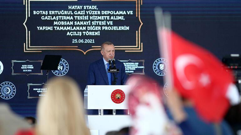 Son dakika... Cumhurbaşkanı Erdoğandan Hatayda önemli açıklamalar