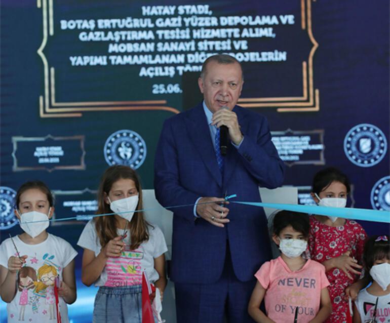 Son dakika... Cumhurbaşkanı Erdoğandan Hatayda flaş açıklamalar Türkiyede bir ilk...