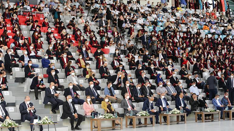 Bakanlar Gül ve Elvan, Hasan Kalyoncu Üniversitesi Mezuniyet Törenine katıldı