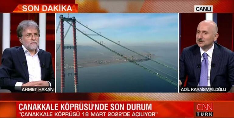 Bakan Karaismailoğlundan CNN TÜRKte önemli açıklamalar
