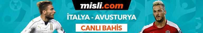 İtalya - Avusturya maçı Tek Maç ve Canlı Bahis seçenekleriyle Misli.com'da